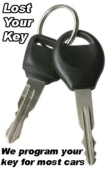 If you lost your key